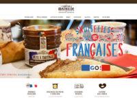 Page accueil site internet