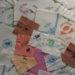 serviettes imprimées
